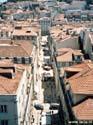 Zicht op het centrum van Lissabon, Portugal