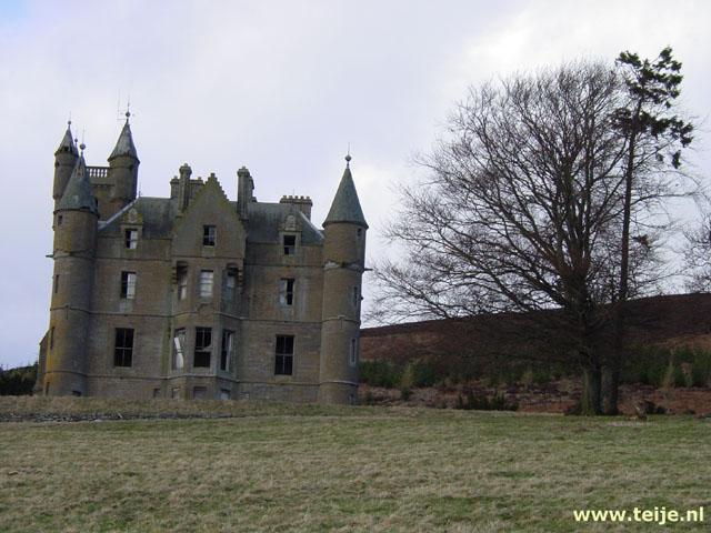 Reisverhaal Schotland maart 2004, ten zuiden van de Grampian Mountains