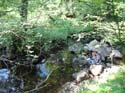 Pauzeren in Glen Luss, Schotland