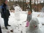 Sneeuwmannen maken, Duitsland