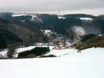 Landschap in de Eifel, Duitsland