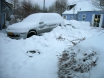 Het heeft flink gesneeuwd, Duitsland