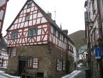 Vakmanhuis in Monreal in de Eifel, Duitsland