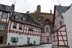 Het stadje Monreal in de Eifel, Duitsland