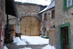 Sommige huizen in Monreal zijn uit de 15e eeuw, Duitsland