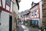 Straatje in Monreal in de Eifel, Duitsland