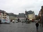 Het centrum van Mayen, Duitsland