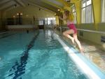 Een duik in het zwembad, Duitsland