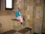 In het kasteel van Vianden, Luxemburg
