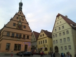 Centrum van Rothenburg ob der Tauer