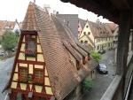 Vakwerkhuis Rothenburg ob der Tauer, Duitsland