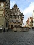 Jagstheimerhaus, Vakwerkhuis Rothenburg ob der Tauer, Duitsland