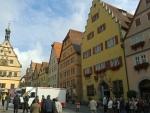 Marktplein Rothenburg ob der Tauer, Duitsland