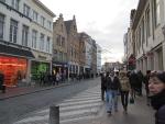 Winkelstraat Brugge, Belgie