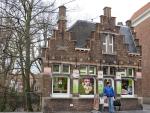 Leuk winkeltje in Brugge, Belgie