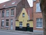 Grappig huisje, Brugge, Belgie