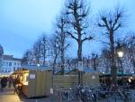 Kerstmarkt in Brugge, Belgie