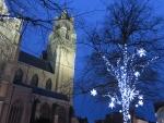 Kerstsfeer in Brugge, Belgie