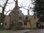 Huisje in de Arentshof, Brugge, Belgie