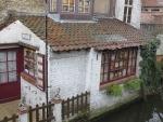 Huisje aan de Mariastraat, Brugge, Belgie