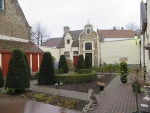 Hofje aan de Noordstraat, Brugge, Belgie