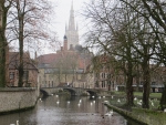 Het Minnewater, Brugge, Belgie