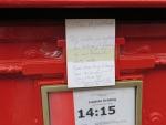 Brievenbusbriefje, Belgie