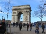 De Arc de Triomphe, Parijs