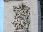 Detail Arc de Triomphe, Parijs