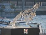 Glazen dinosaurus, Parijs, Parijs