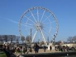Reuzenrad en de naald van Cleoptra, Parijs, Parijs