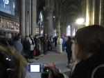 Processie in de Notre-Dame, Parijs, Parijs