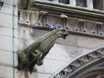 Waterspuwer op de Notre-Dame, Parijs