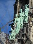 Detail Notre-Dame, Parijs, Parijs