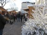 Kerstmarkt bij Montmartre, Parijs