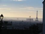 Uitzicht op Parijs vanaf Montmartre, Parijs