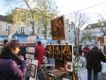 Schildersmarkt, Montmartre, Parijs