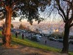 Uitzicht vanaf de Sacré-Coeur, Parijs, Parijs