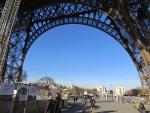 Onder de Eiffeltoren, Parijs