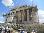 Het Parthenon op de Akropolis in Athene, Griekenland