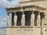 Het Erechtheion op de Akropolis, Griekenland