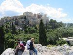 Uitzicht vanaf de Areopagus, Griekenland