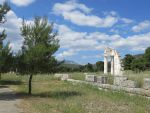 Ruïnes van het Asklepeion in Epidaurus, Griekenland