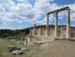 Het Enkoimeterion in Epidaurus, Griekenland