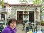 Het is fris in Kosmas, Griekenland