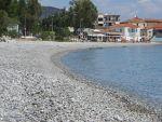 Strandje aan de baai van Argolikos, Griekenland