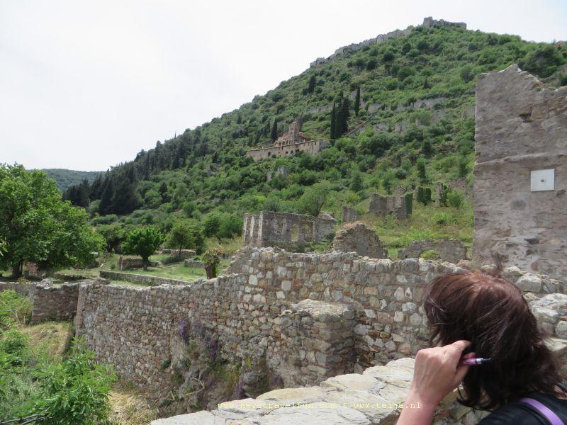 Klooster bij Mystras, Griekenland