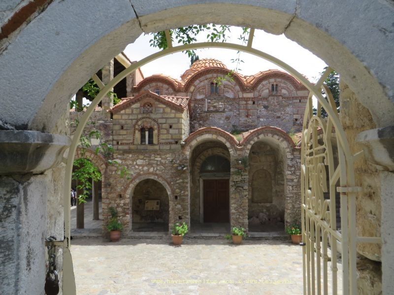 Metropolis basiliek, Mystras, Griekenland