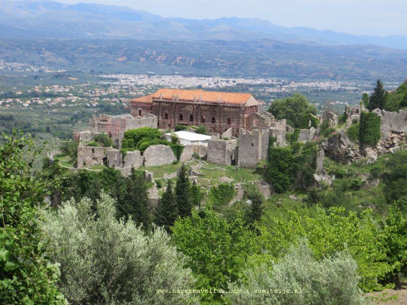 Despotenpaleis, Mystras, Griekenland