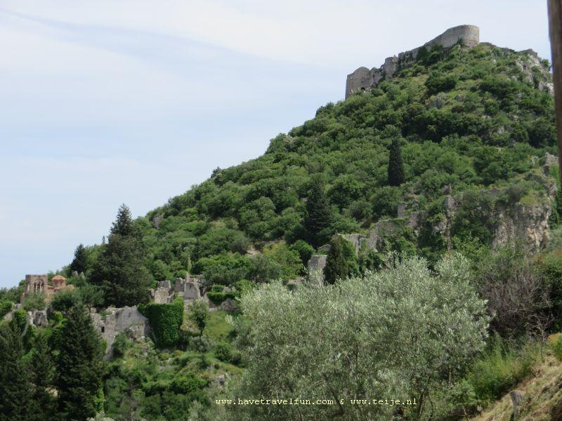Villehardouin's kasteel, Griekenland
